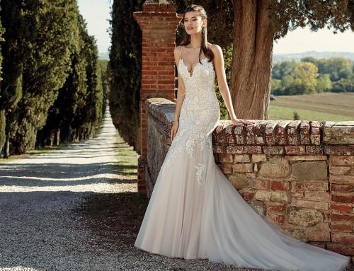 Wedding Dress EK1205  in stores now