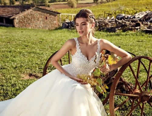 Wedding Dress EK1208  in stores now