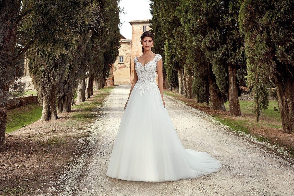 Cap Sleeve | Eddy K Bridal Gowns | Designer Wedding Dresses 2018 ...