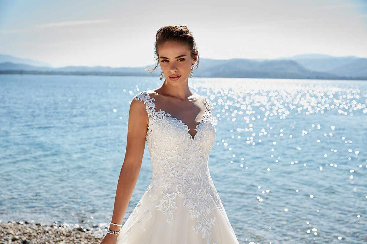 Wedding Dress Heidi in stores now – Eddy K Bridal Gowns | Designer ...