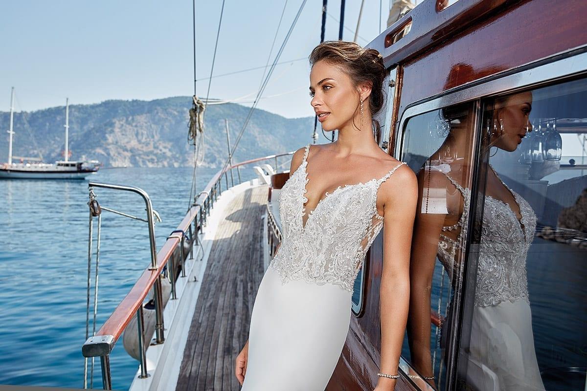 Crepe   Eddy K Bridal Gowns   Designer Wedding Dresses 2018