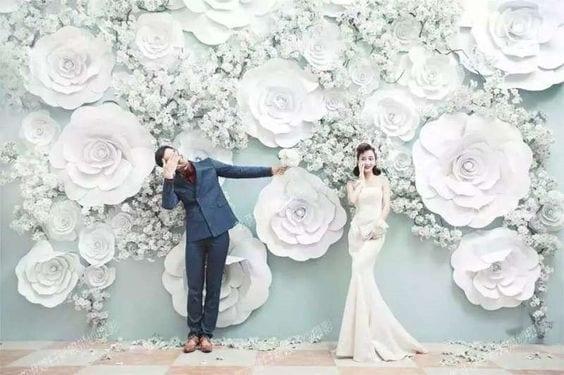How To Make Wedding Backdrops 50 Wedding Backdrop Ideas Eddy K