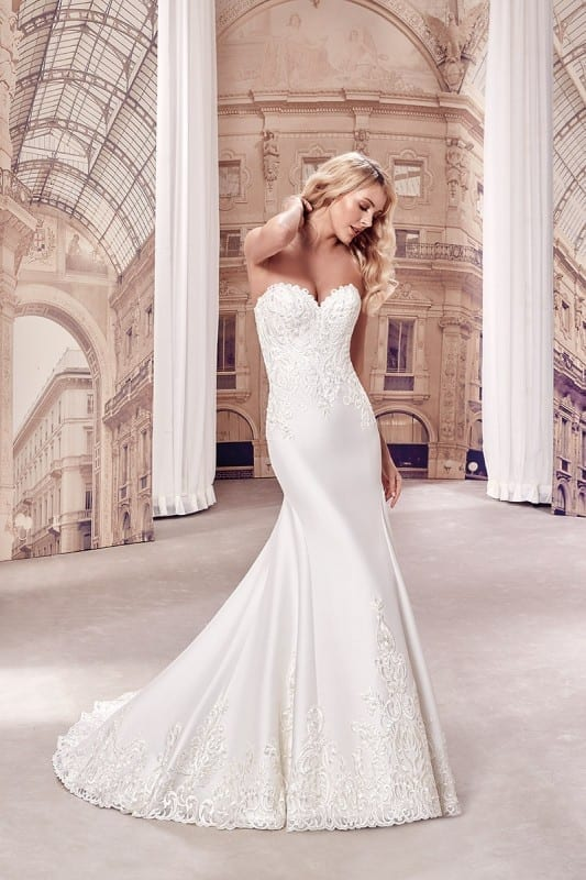 Mikado | Eddy K Bridal Gowns | Designer Wedding Dresses 2018
