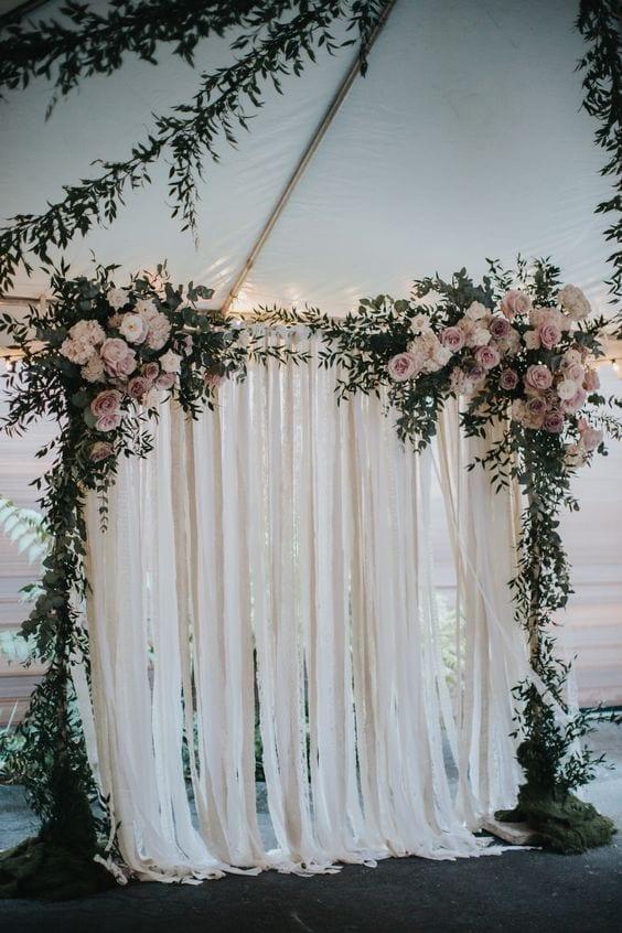 How To Make Wedding Backdrops 50 Wedding Backdrop Ideas Eddy K Bridal Gowns Designer Wedding Dresses 2020