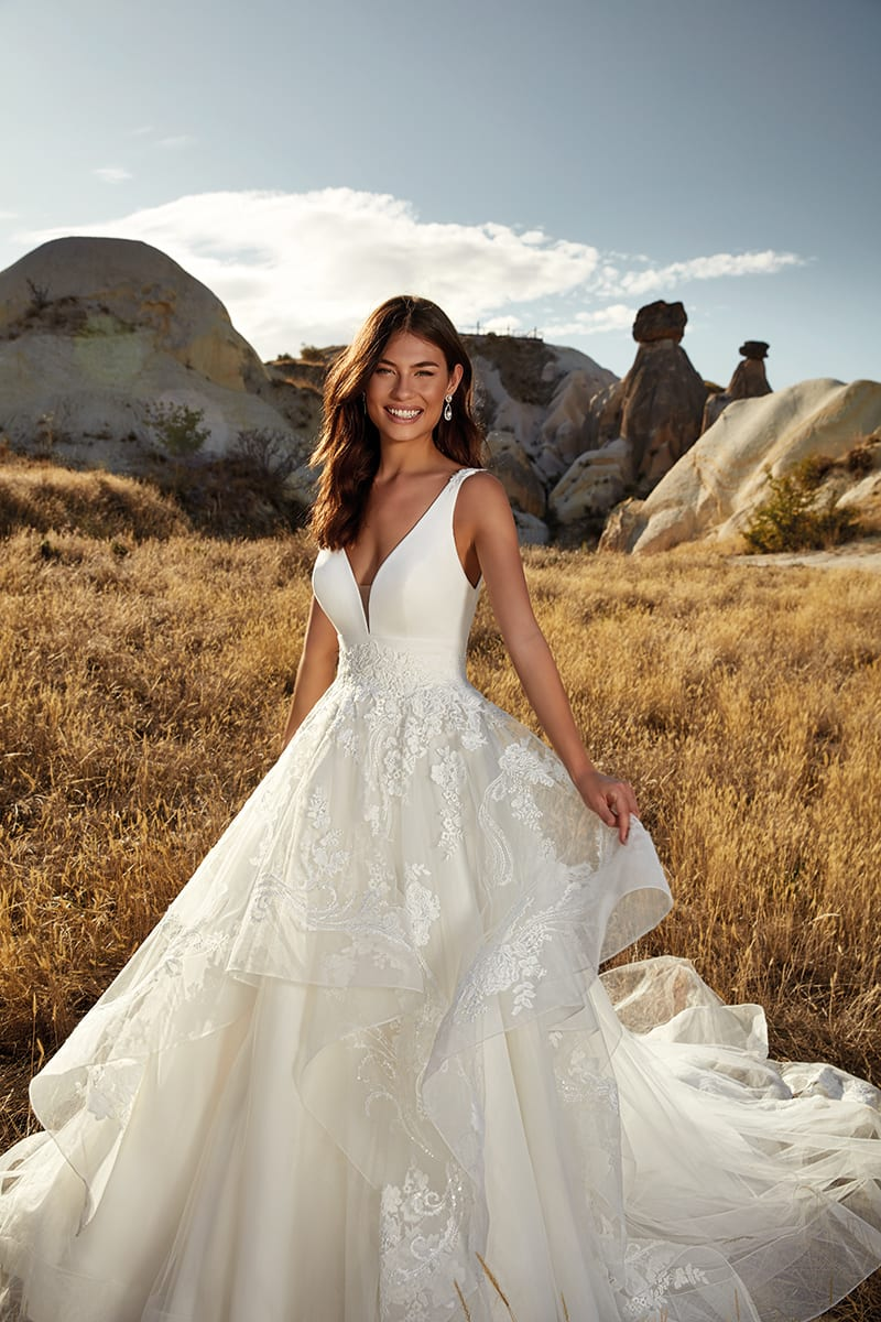 Wedding Dress DR20 Athena 20 Collection – Eddy K Bridal Gowns ...