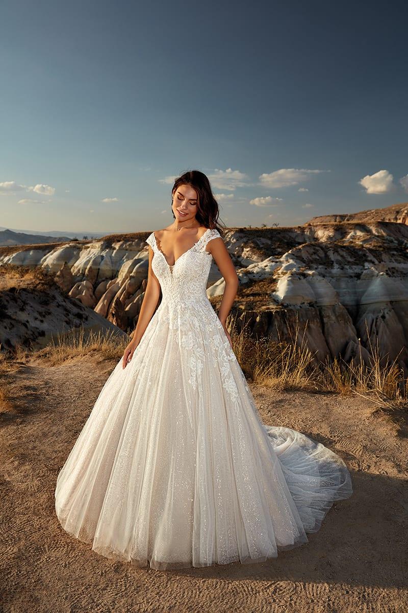 Wedding Dress DR20 Flora 20 Collection – Eddy K Bridal Gowns ...