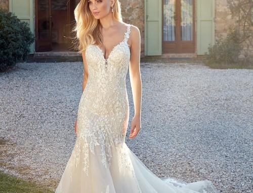 Wedding Dress EK1343 Georgia  2021 Collection
