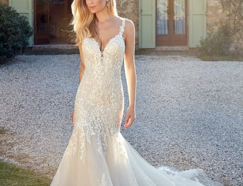 Wedding Dress EK1343 Georgia  2021 Collection
