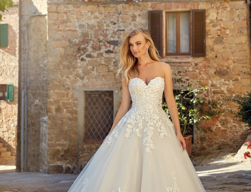 Wedding Dress EK1346 Haley  2021 Collection