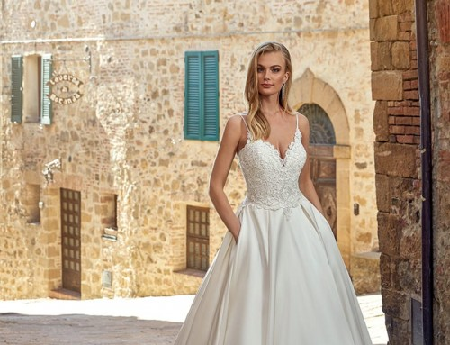 Wedding Dress EK1349 Ilana  2021 Collection
