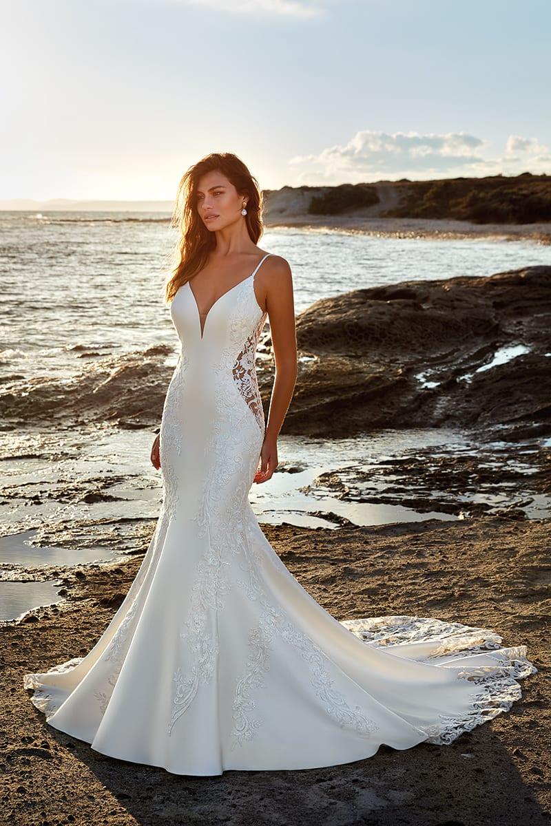 Wedding Dress DR20 Desiree – Eddy K Bridal Gowns   Designer ...