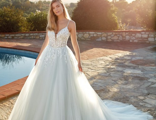 Wedding Dress Eve Blue | EK1406  2022 Collection